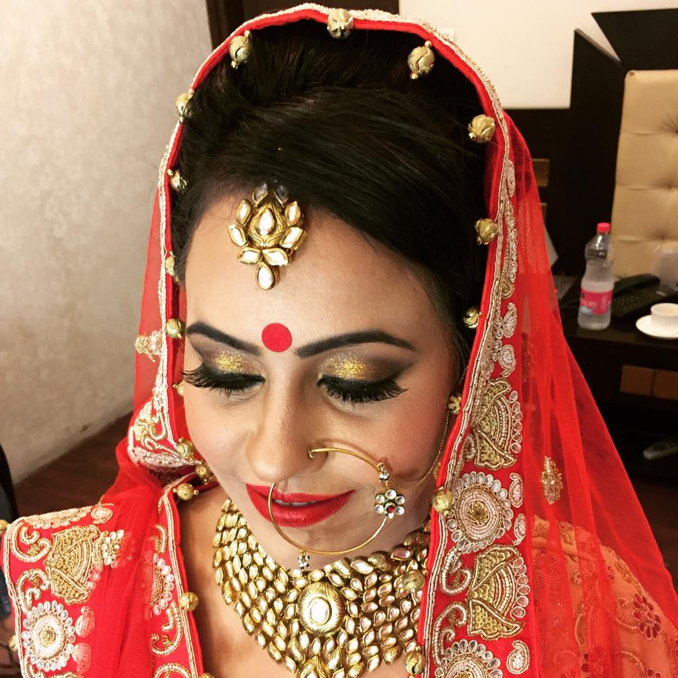 Day-wedding makeup look by Bobby Chopra Wedding-photography | Weddings Photos & Ideas