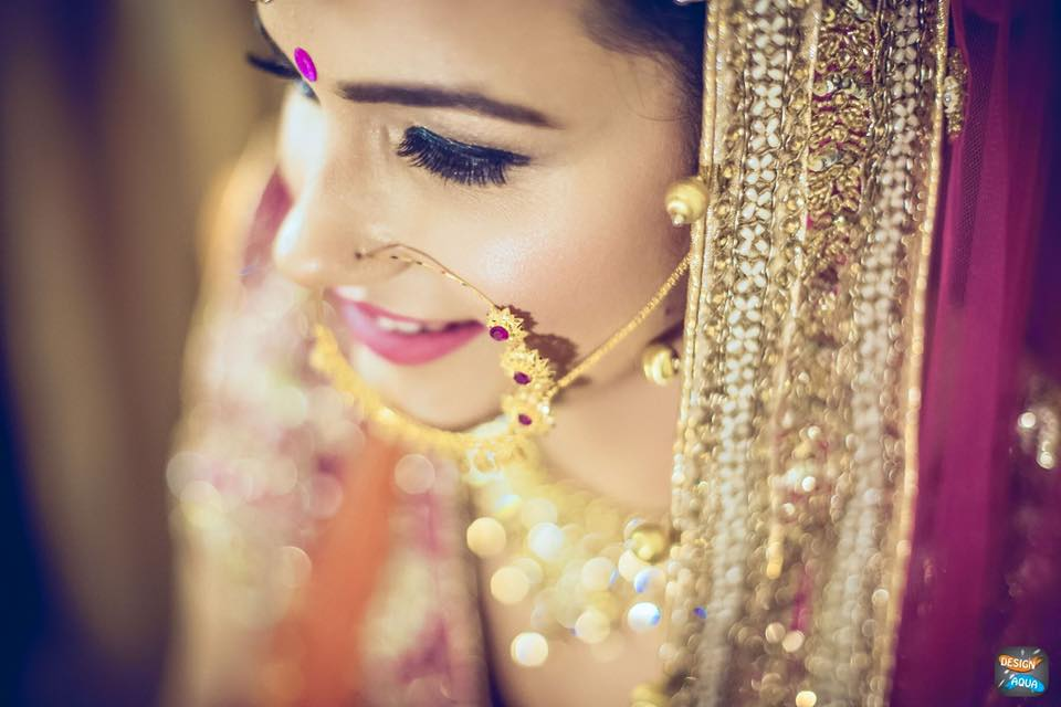 Natural shot of the bride by Bobby Chopra Wedding-photography | Weddings Photos & Ideas