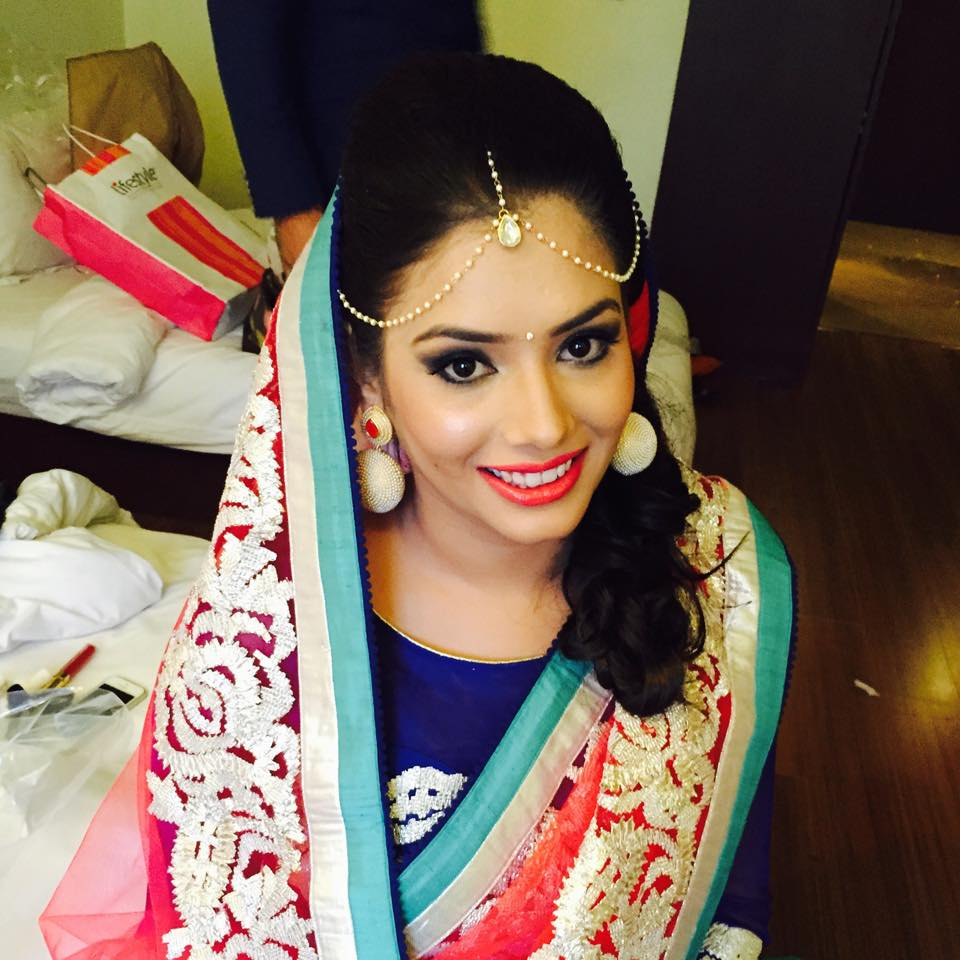 Simplicity is the key she chose! by Bobby Chopra Bridal-makeup | Weddings Photos & Ideas