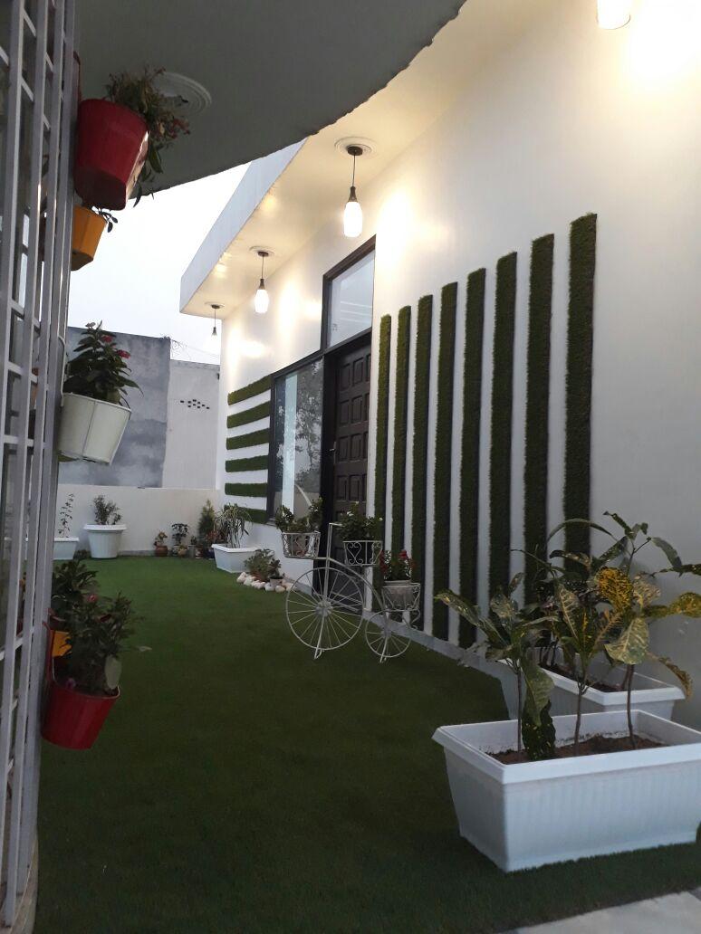 Spectacular Home Garden Design by Khyaati Verma Open-spaces Contemporary | Interior Design Photos & Ideas