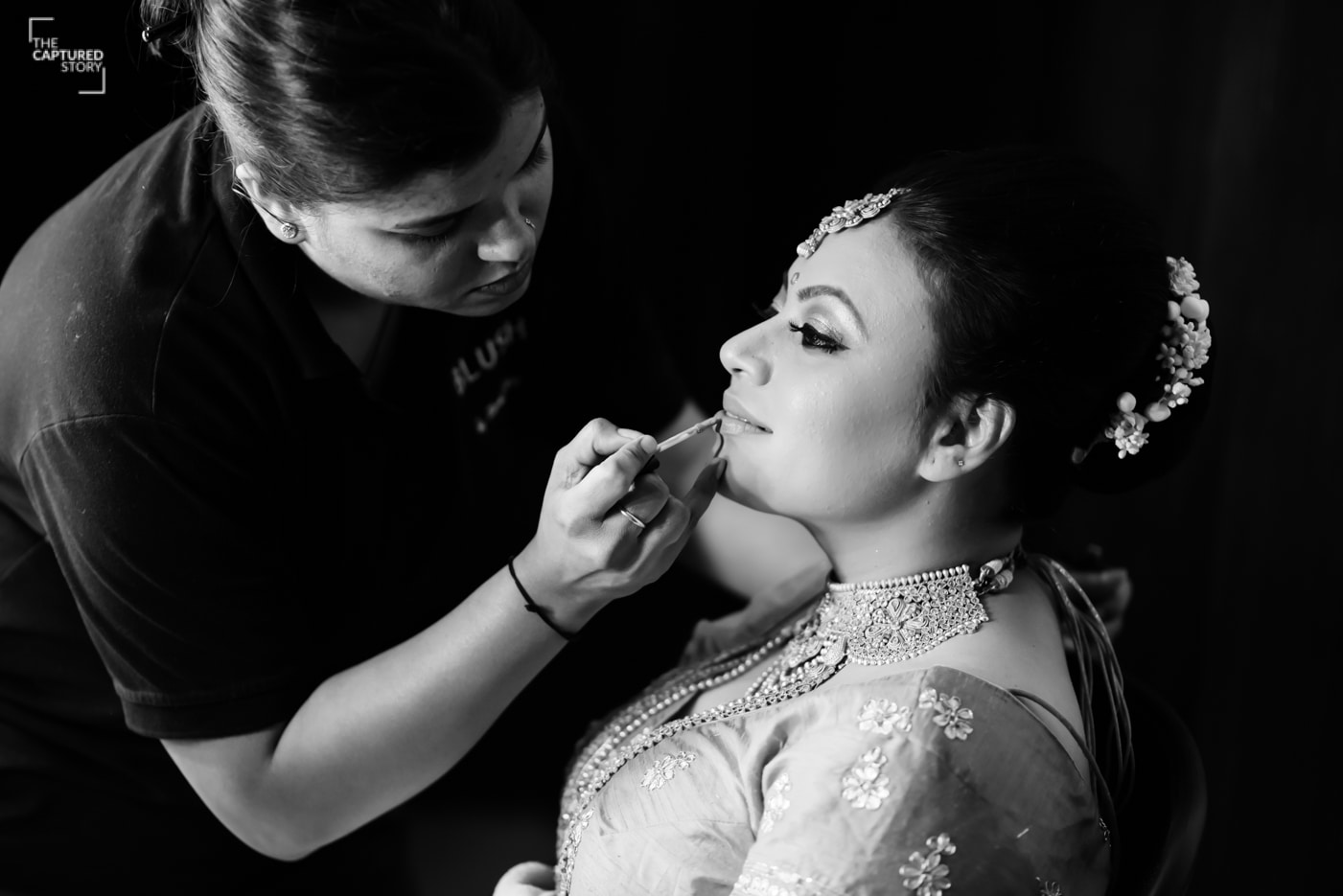 Bride's beauty captured by Captured Memories Wedding-photography | Weddings Photos & Ideas