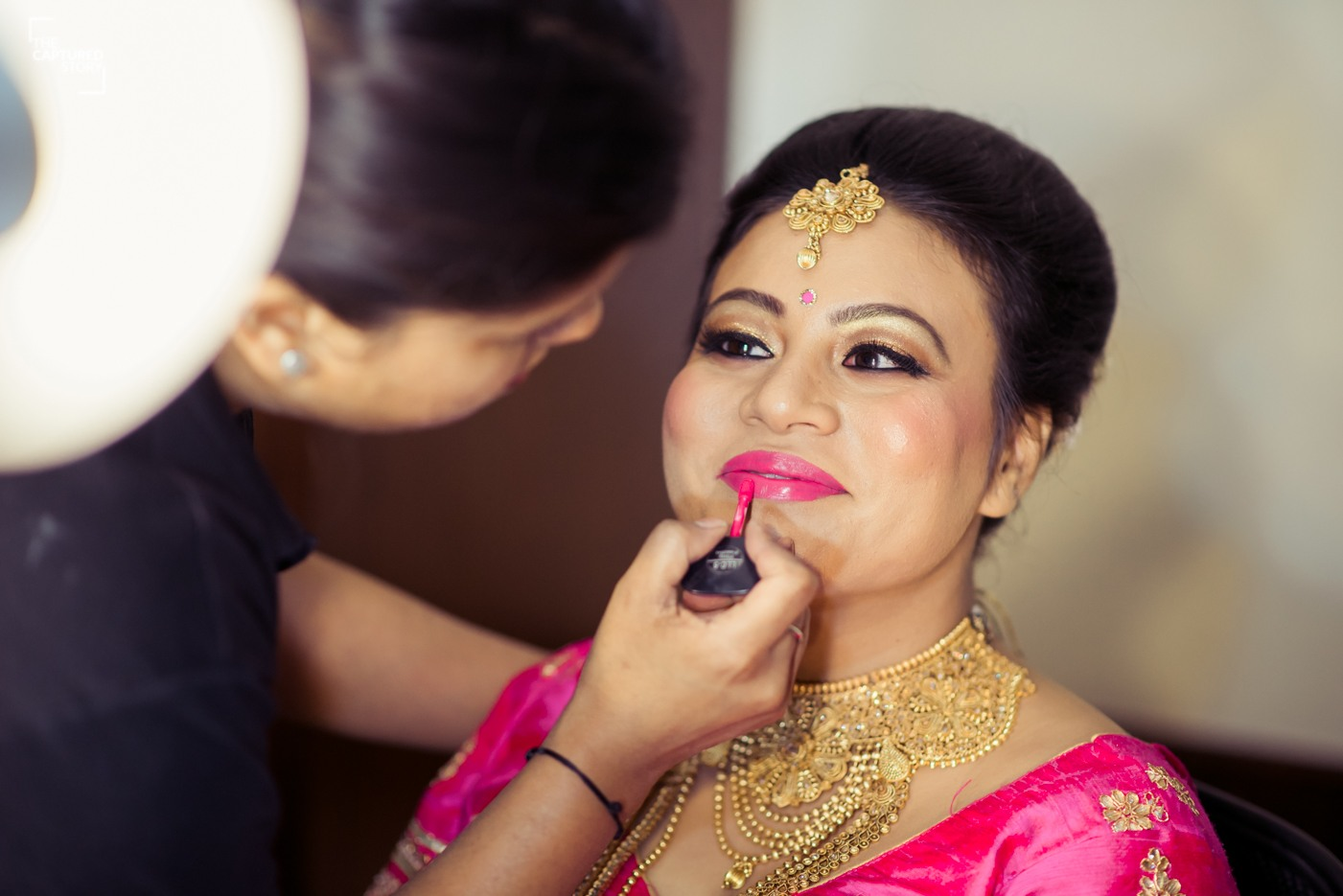 Gearing up for the big day by Captured Memories Wedding-photography | Weddings Photos & Ideas