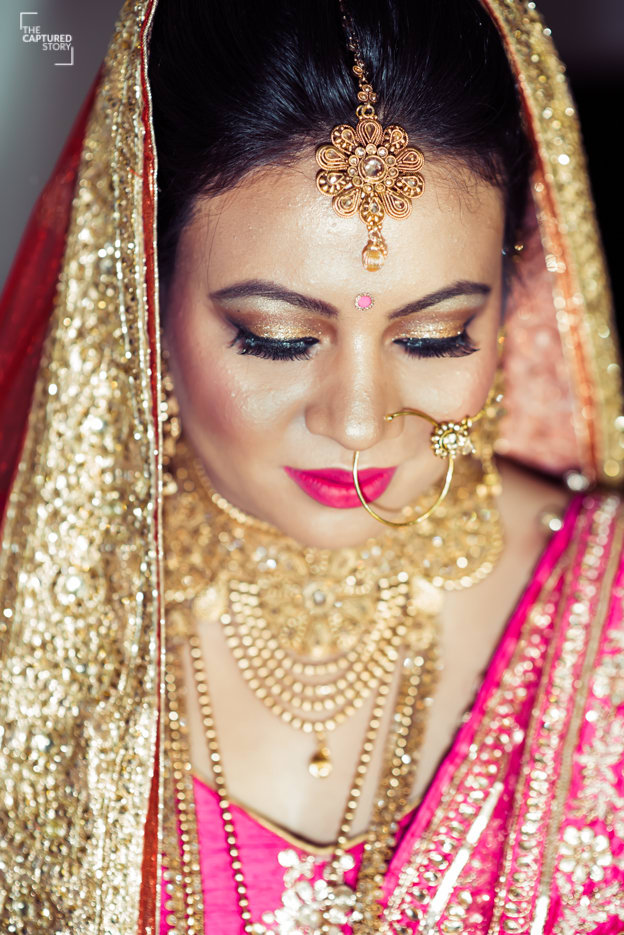 Accessories adorns her beauty by Captured Memories Wedding-photography | Weddings Photos & Ideas