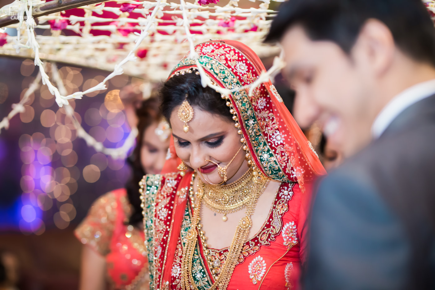 All the eyes on the Bride by Captured Memories Wedding-photography | Weddings Photos & Ideas