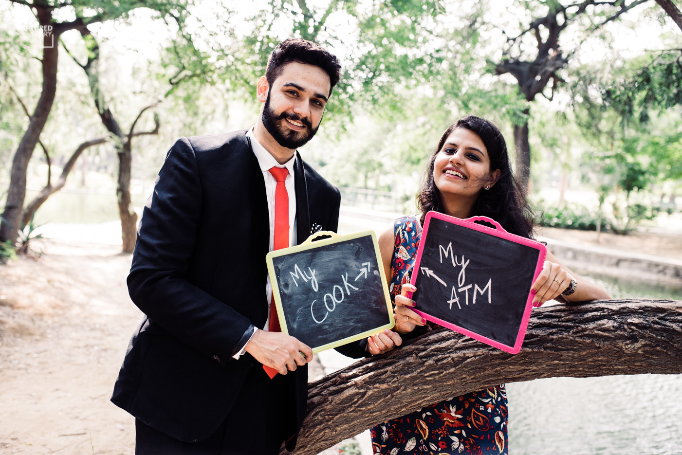 The playful couple by Captured Memories Wedding-photography | Weddings Photos & Ideas