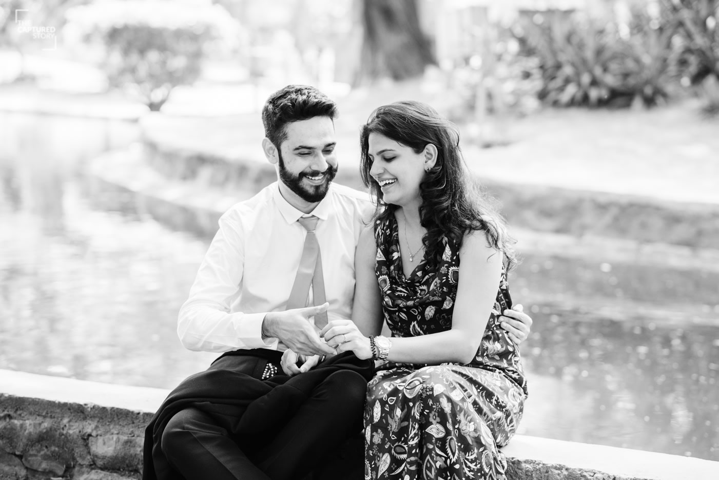 Smiles seized by Captured Memories Wedding-photography | Weddings Photos & Ideas
