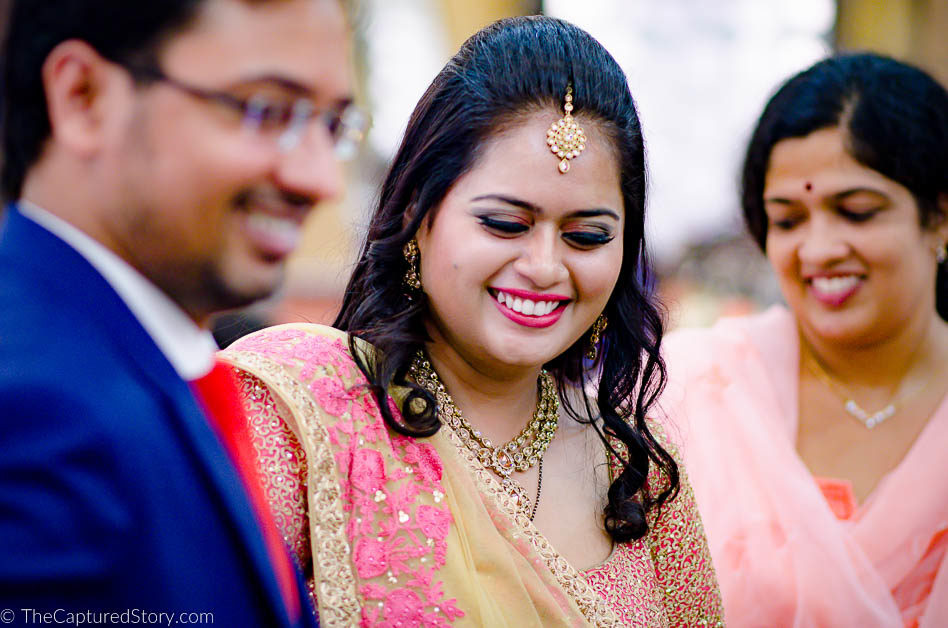 Blush makes her all the more alluring by Captured Memories Wedding-photography | Weddings Photos & Ideas