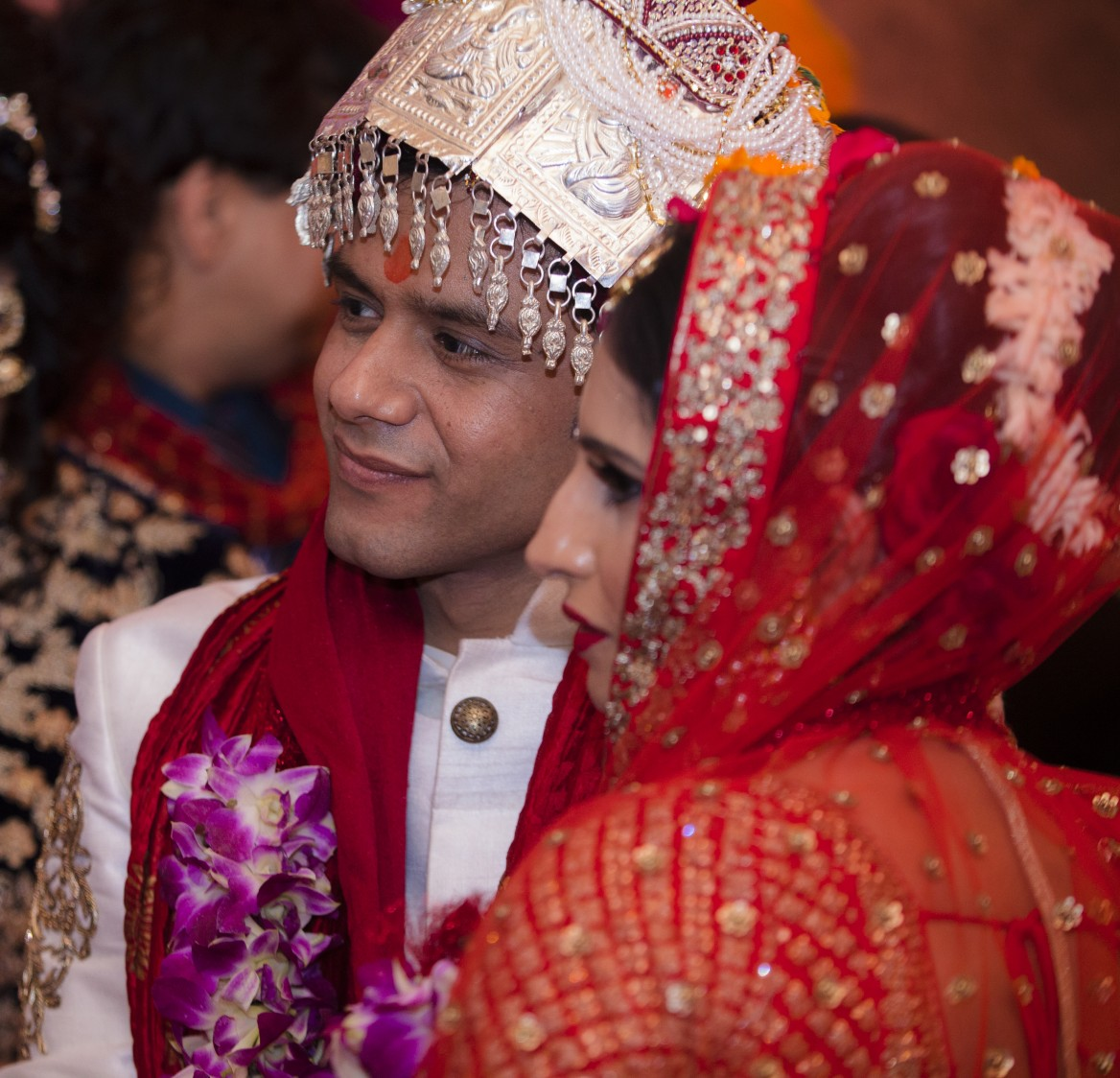 Candid Shot Of Bride And Groom by Arpit Gulati Wedding-photography | Weddings Photos & Ideas