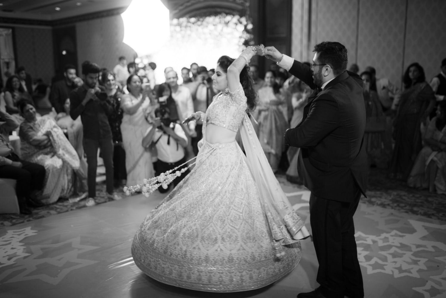 Enchanting Couple Enjoying A waltz by Arpit Gulati Wedding-photography | Weddings Photos & Ideas