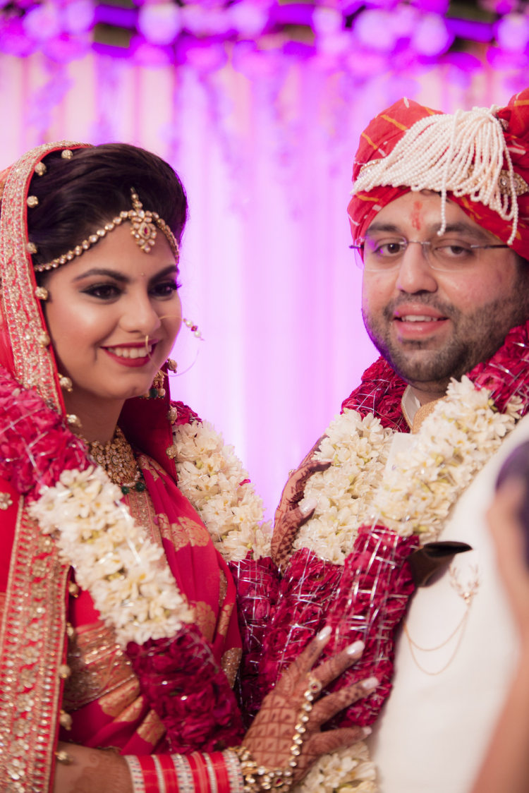 Newly Wed Couple Posing To The Lens by Arpit Gulati Wedding-photography | Weddings Photos & Ideas