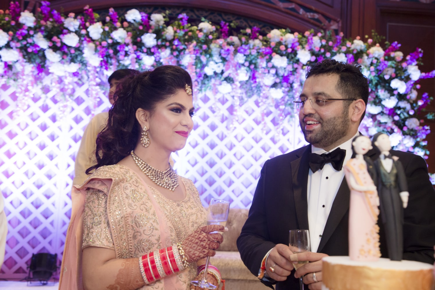 Captivating Couples At Wedding Reception by Arpit Gulati Wedding-photography | Weddings Photos & Ideas