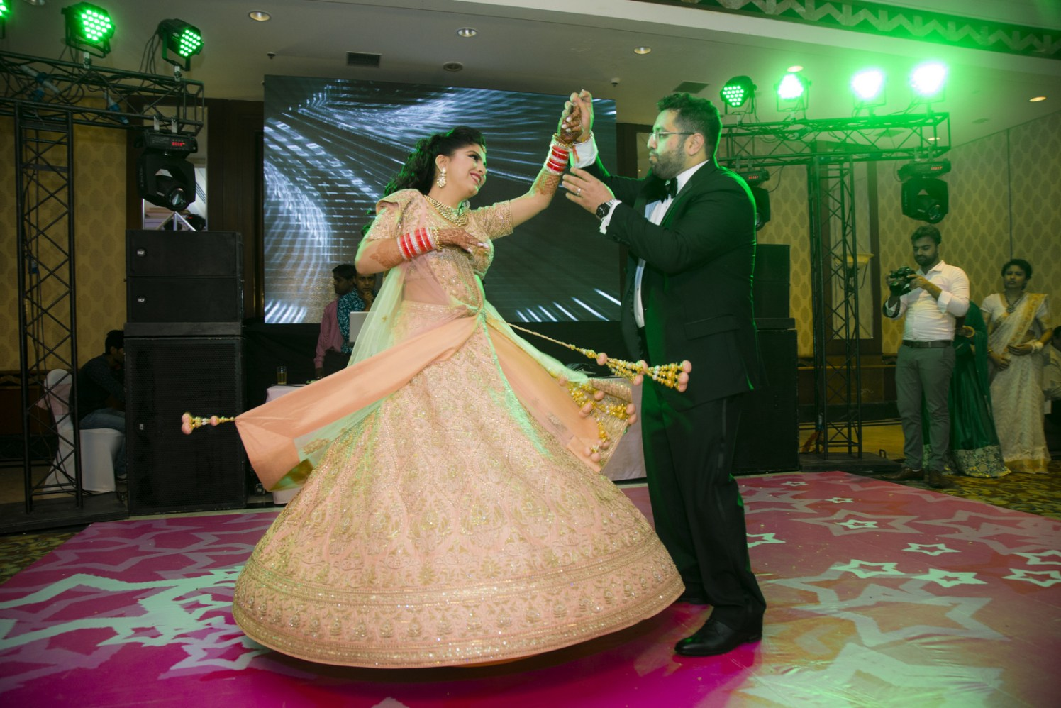 Dancing Till The Stars Come down by Arpit Gulati Wedding-photography | Weddings Photos & Ideas
