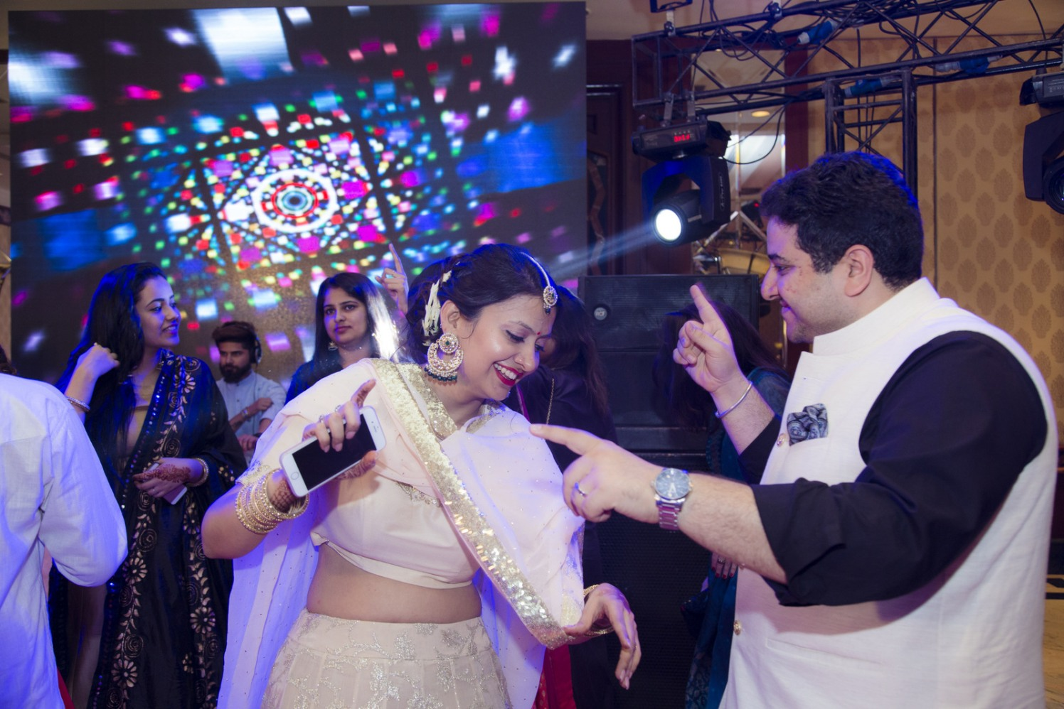 Rocking The Dance Floor by Arpit Gulati Wedding-photography | Weddings Photos & Ideas
