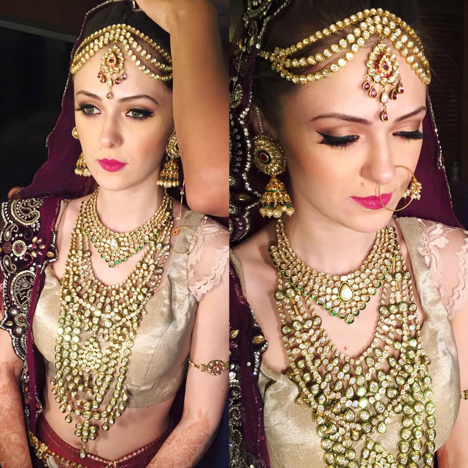 Prepossessing  the beauty of a bride by Tejasvini Chander Bridal-makeup | Weddings Photos & Ideas