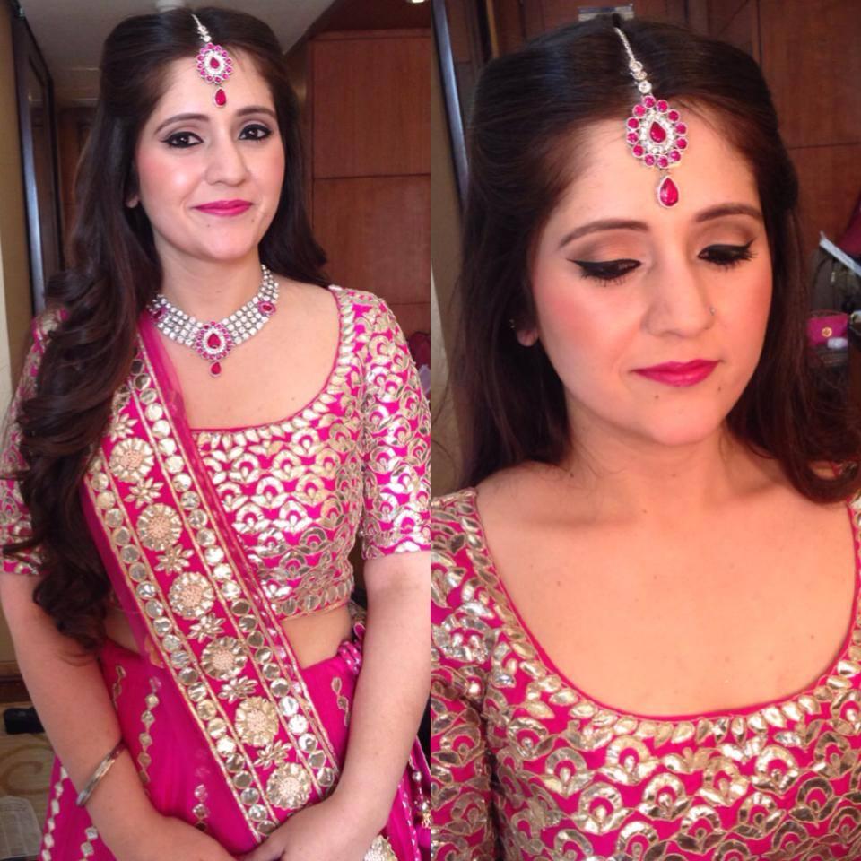 Crimson look by Tejasvini Chander Bridal-makeup | Weddings Photos & Ideas