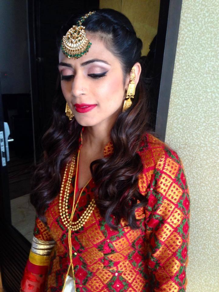 Indian Look by Tejasvini Chander Bridal-makeup | Weddings Photos & Ideas