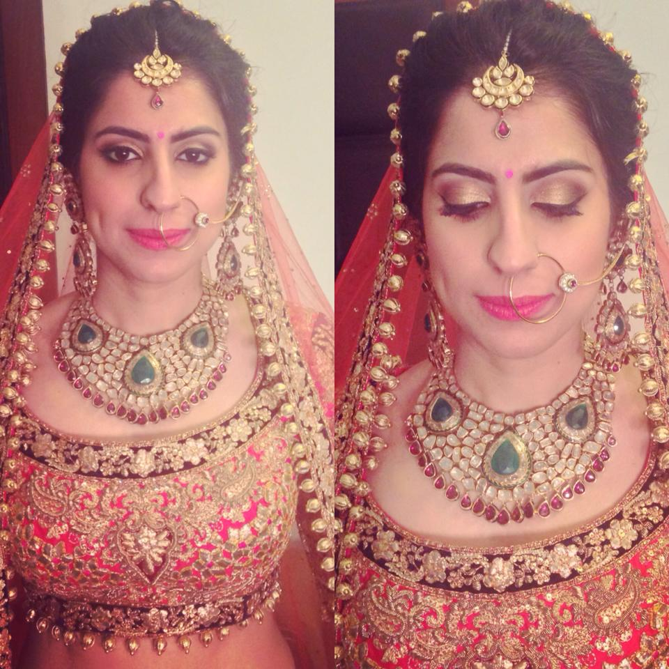 Beautiful Bridal Look by Tejasvini Chander Bridal-makeup | Weddings Photos & Ideas