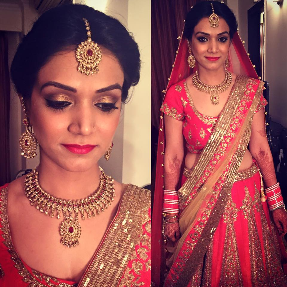 Pink Queen by Tejasvini Chander Bridal-makeup | Weddings Photos & Ideas
