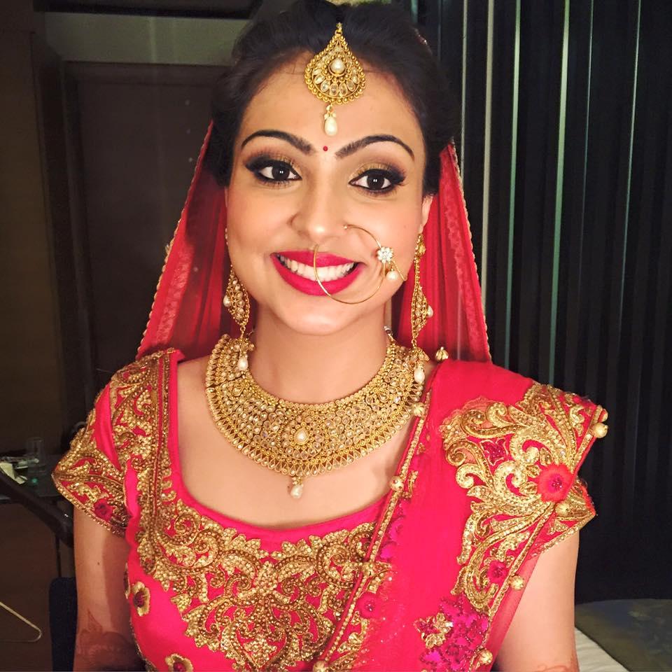 Twinkling in Pink by Tejasvini Chander Bridal-makeup | Weddings Photos & Ideas