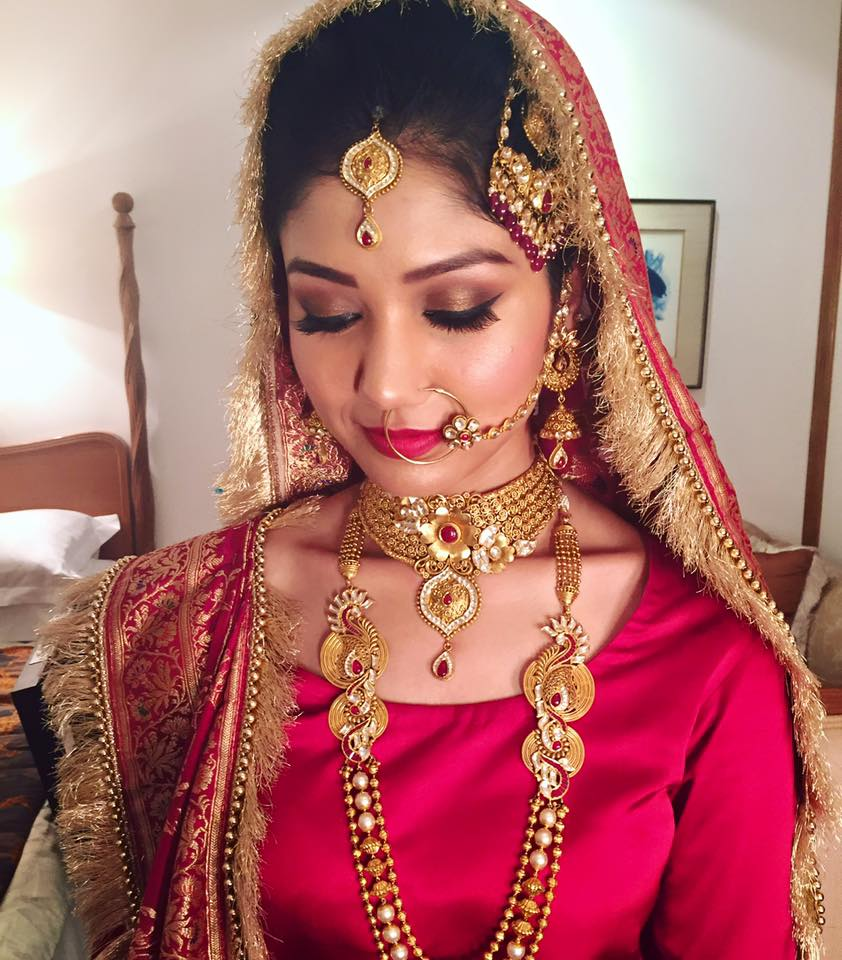 Bronze look by Tejasvini Chander Bridal-makeup | Weddings Photos & Ideas