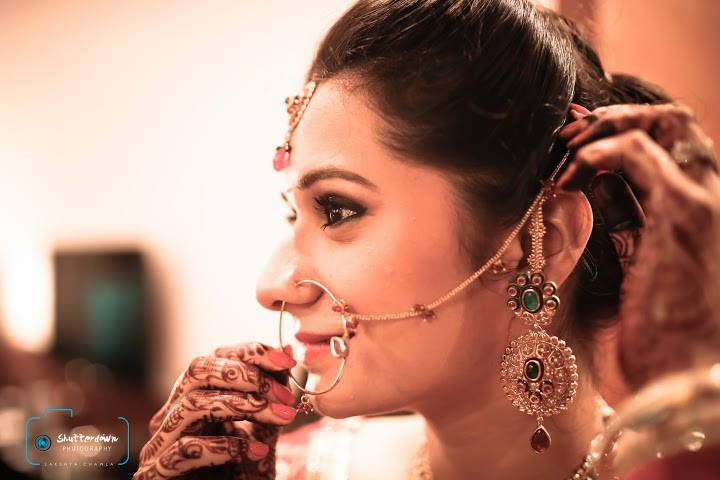 Candid portrait of a bride by Tejasvini Chander Wedding-photography | Weddings Photos & Ideas
