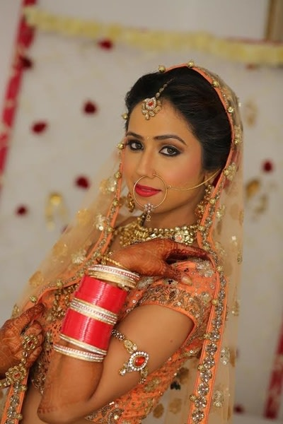 Bridal look by Pooja Sethi Bridal-makeup | Weddings Photos & Ideas