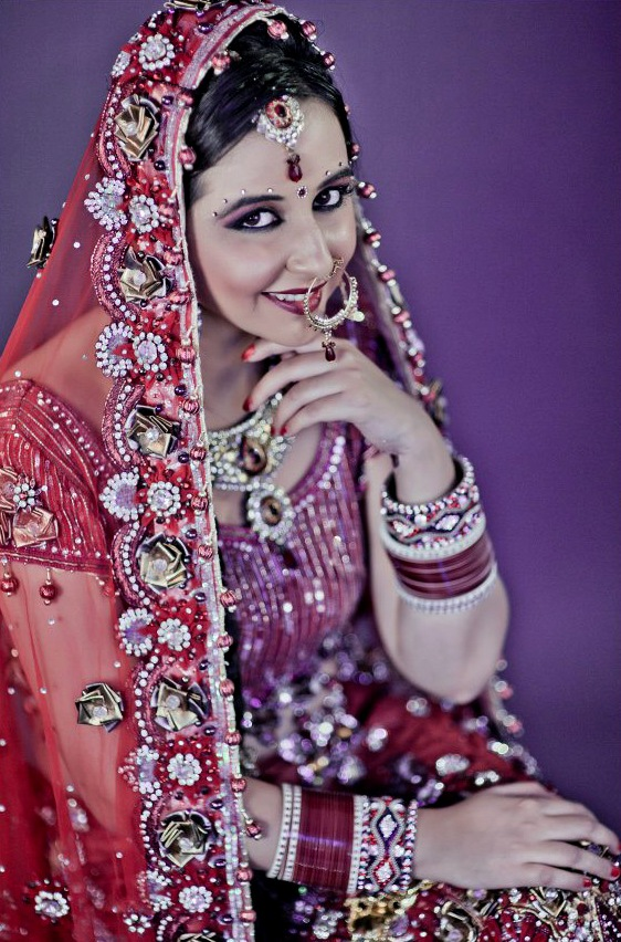 Detailing dew in red! by Tarang Makeup Artist Bridal-makeup | Weddings Photos & Ideas