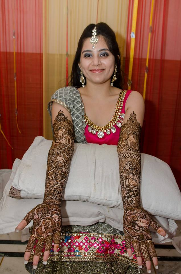 Bride At Her Mehendi Ceremony by Amish Photography Wedding-photography | Weddings Photos & Ideas