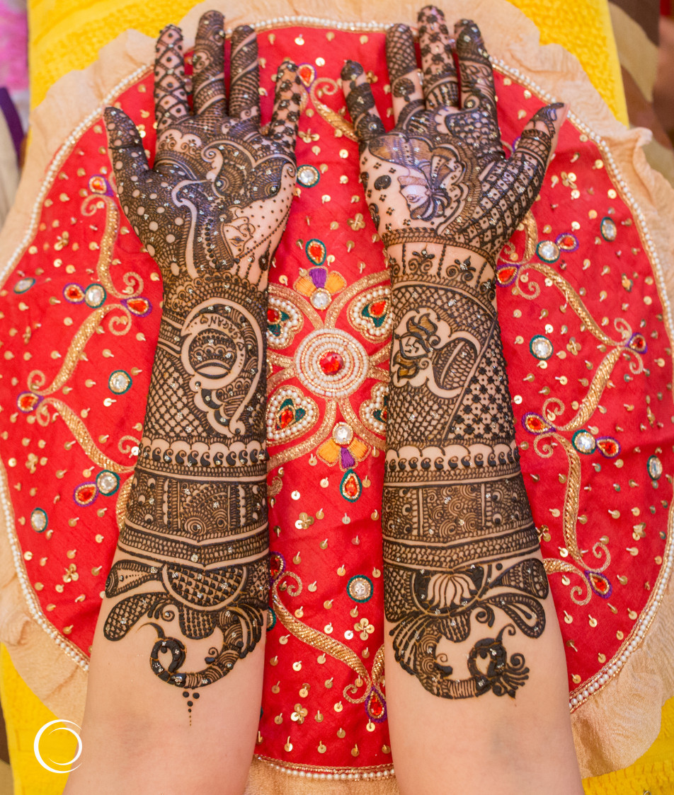 Intricate Bridal Mehendi by Amish Photography Wedding-photography | Weddings Photos & Ideas