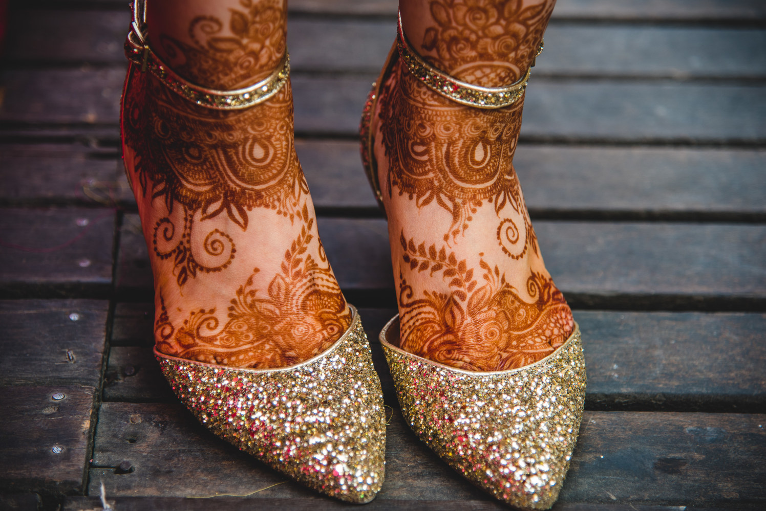 Henna And Footwear Adorned Bride Feet by Amish Photography Wedding-photography | Weddings Photos & Ideas
