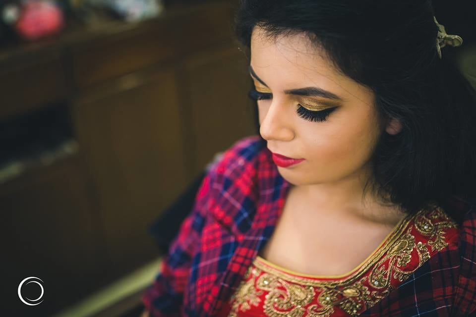 Makeup is incomplete without perfect eye shadow by Amish Photography Wedding-photography | Weddings Photos & Ideas