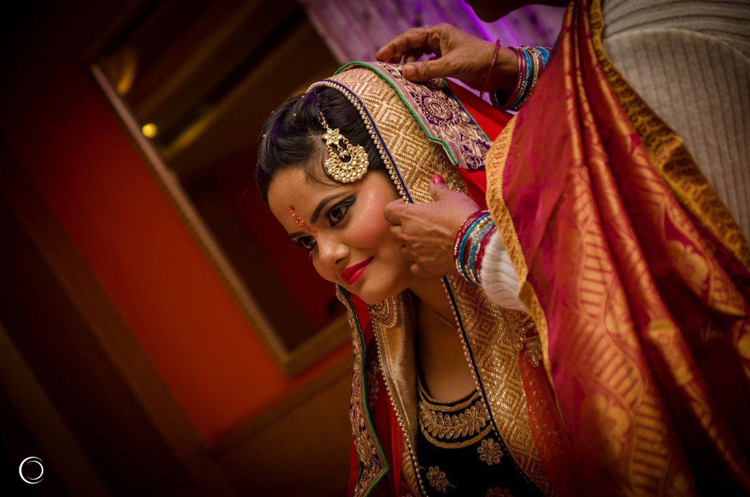 Candid Shot of the bride getting ready by Amish Photography Wedding-photography   Weddings Photos & Ideas