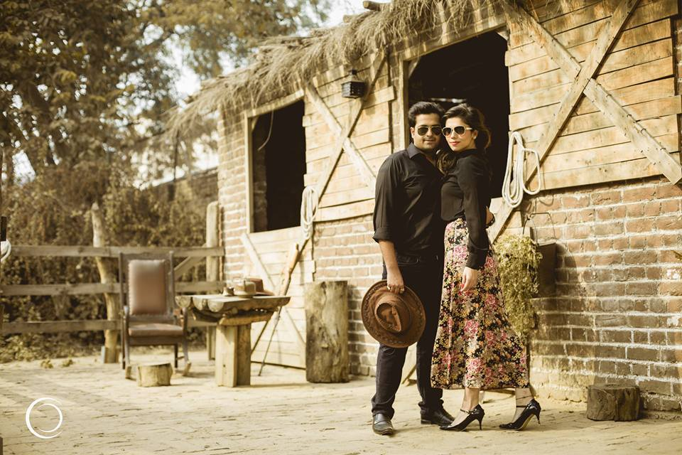 Cowboy themed pre-wedding shoot by Amish Photography Wedding-photography | Weddings Photos & Ideas