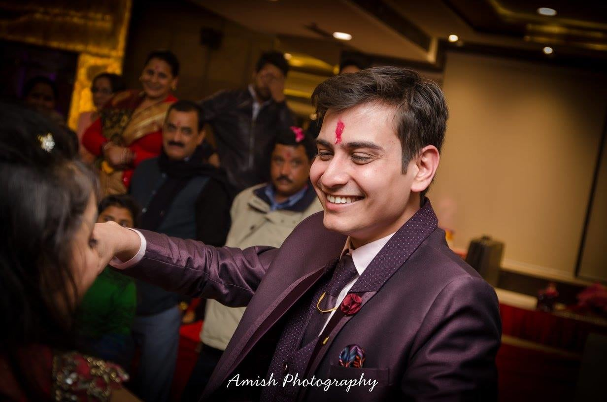 The Happy Groom by Amish Photography Wedding-photography | Weddings Photos & Ideas