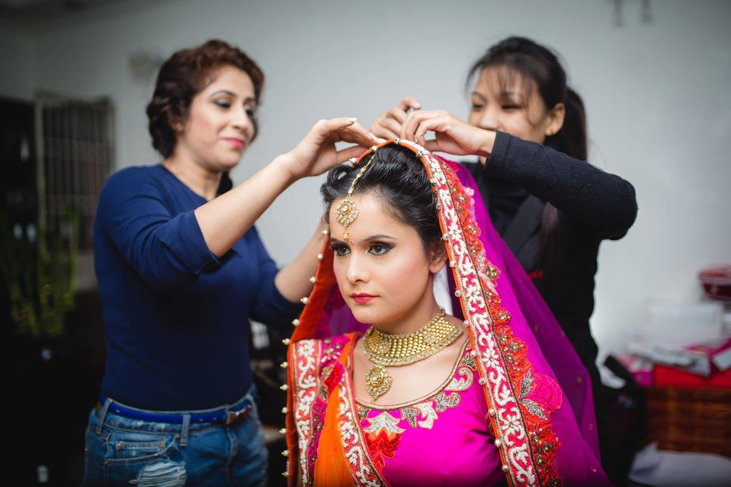 Impeccable Bridal Look by Amish Photography Wedding-photography | Weddings Photos & Ideas