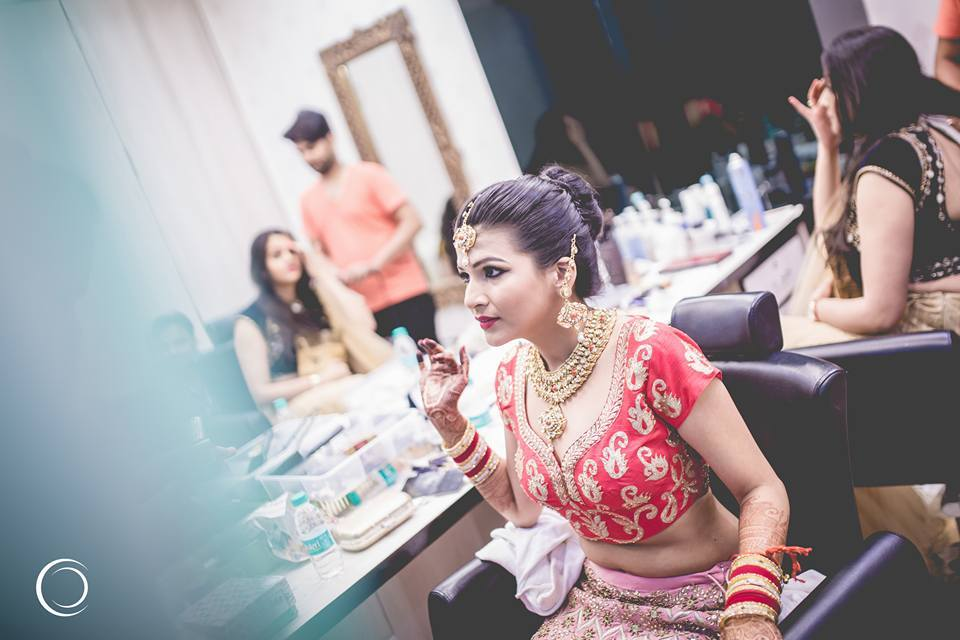 Candid Bride Shot by Amish Photography Wedding-photography | Weddings Photos & Ideas