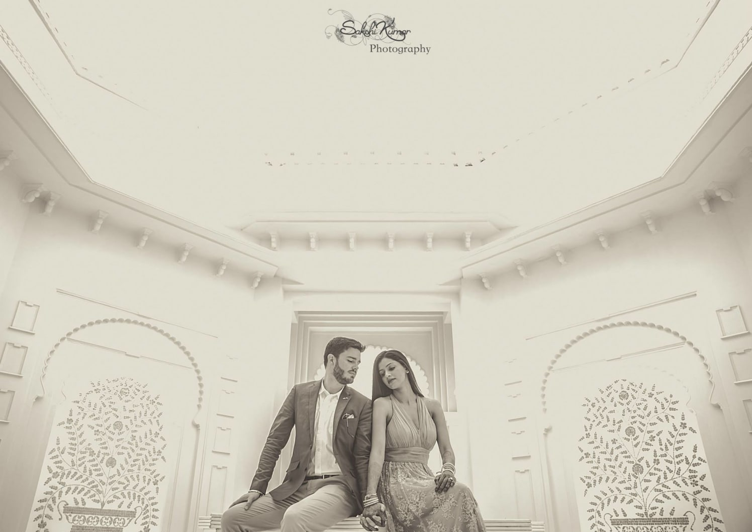 A Poised And Elegant Stylized Pre-Wedding Shoot by Sakshi Kumar Wedding-photography | Weddings Photos & Ideas