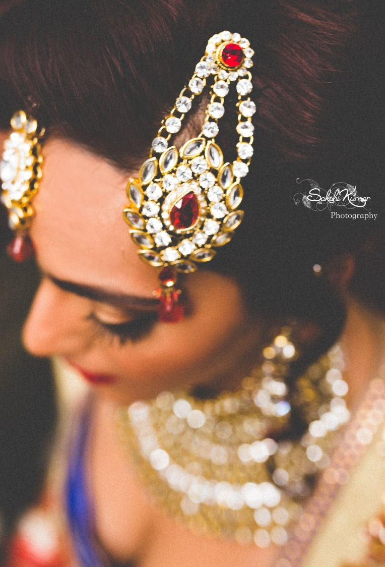 Red Pendant Kundan Passa Mang tikka by Sakshi Kumar Wedding-photography Bridal-jewellery-and-accessories | Weddings Photos & Ideas