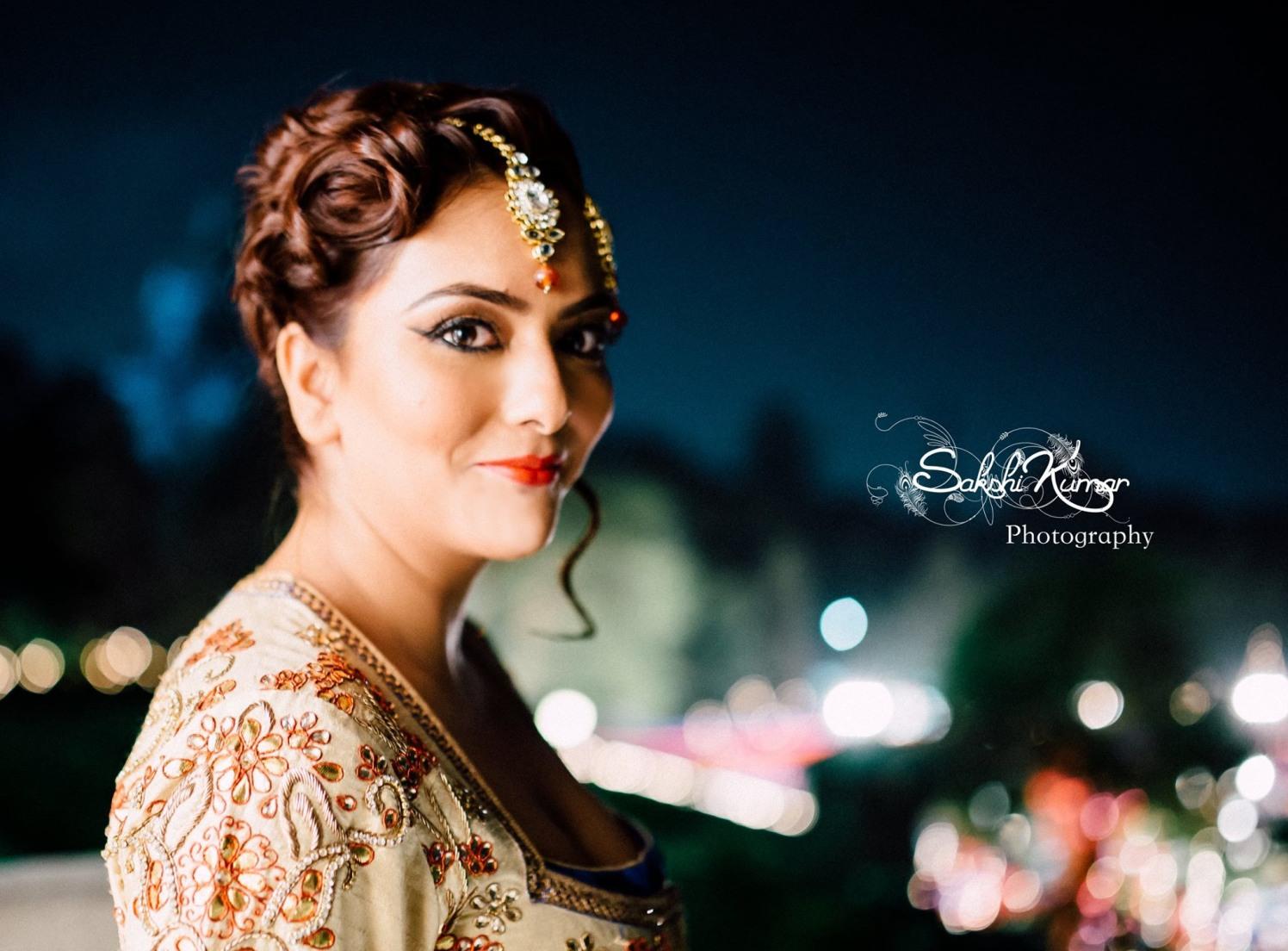 Flawless Bronze Makeup For Bridal Look by Sakshi Kumar Wedding-photography Bridal-makeup | Weddings Photos & Ideas