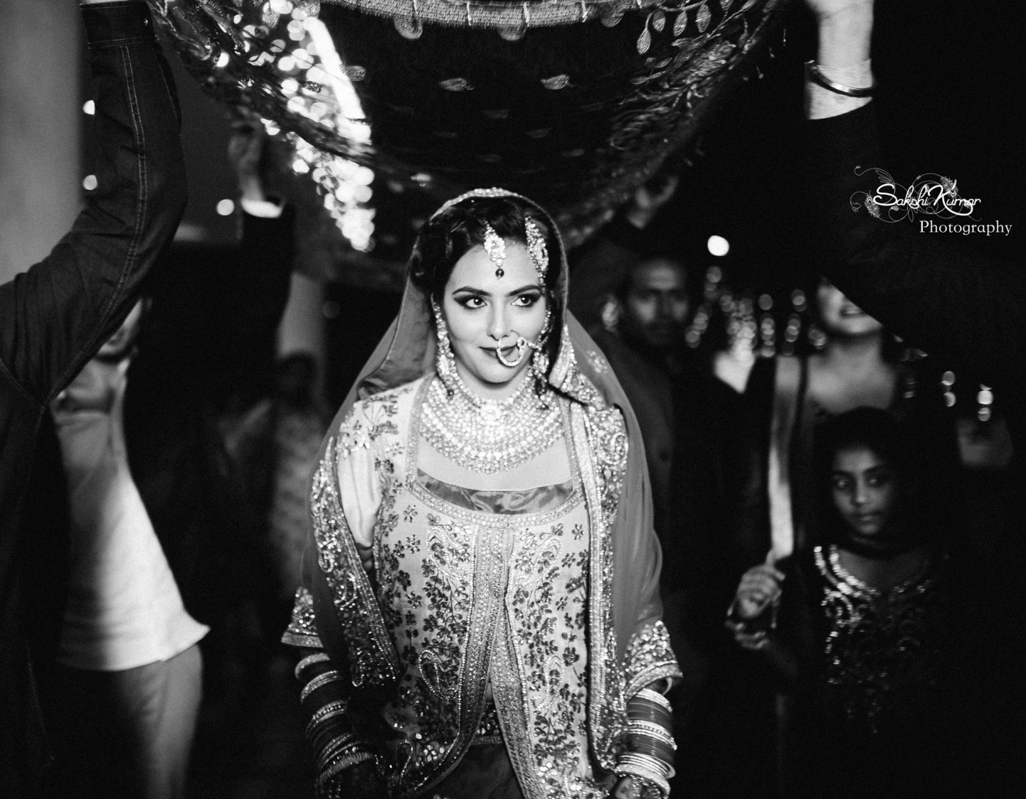 Paragon Of Beauty Walking Down The Aisle by Sakshi Kumar Wedding-photography | Weddings Photos & Ideas