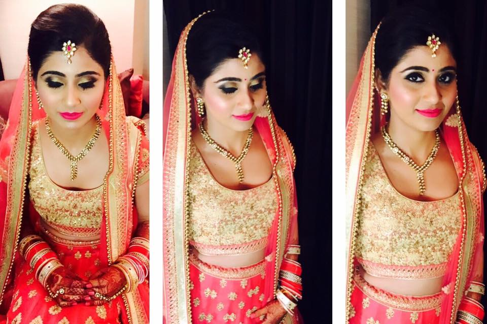 Alluring look for the dream day by Amita Ahluwalia Bridal-makeup | Weddings Photos & Ideas