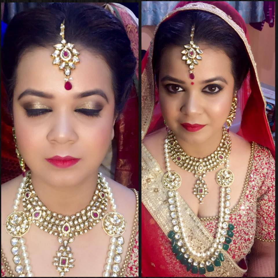 Bridal Look by Amita Ahluwalia Bridal-makeup | Weddings Photos & Ideas