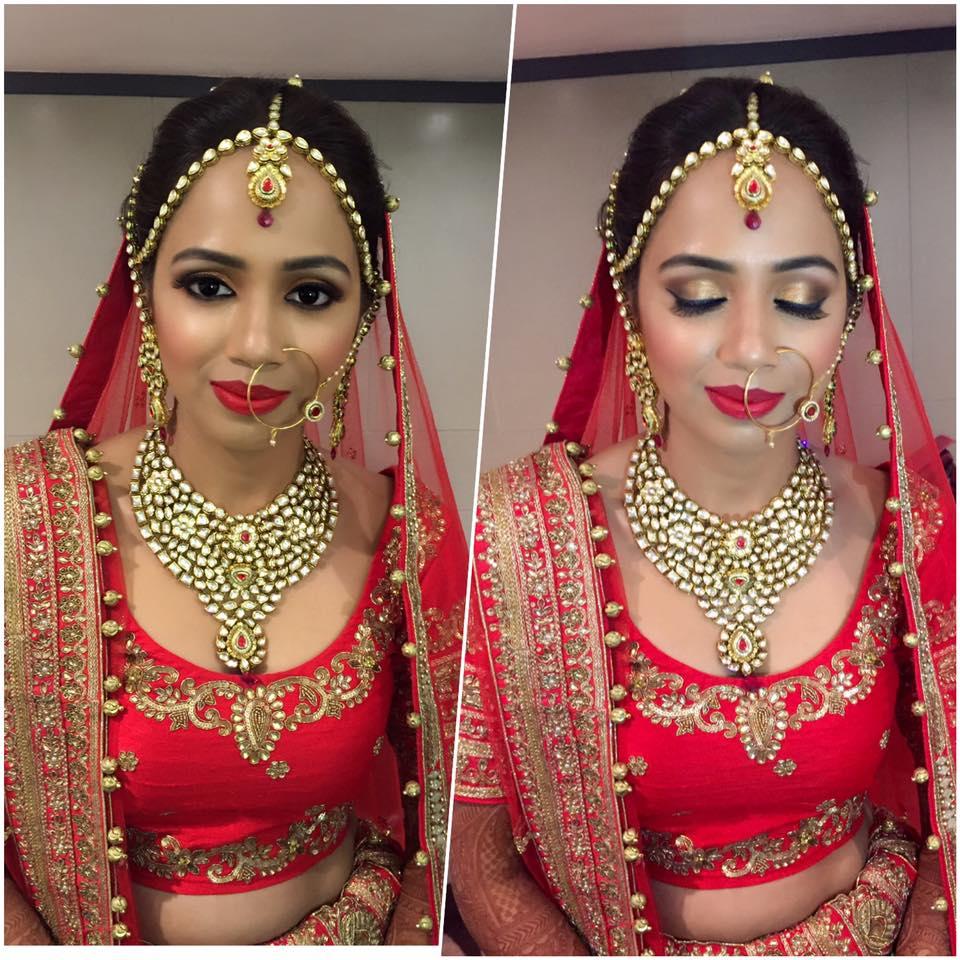 Flawless Indian Bride by Amita Ahluwalia Bridal-makeup | Weddings Photos & Ideas