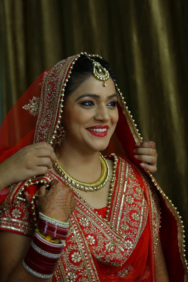 Happiest brides are the prettiest by Arshhia Chawla Bridal-makeup | Weddings Photos & Ideas