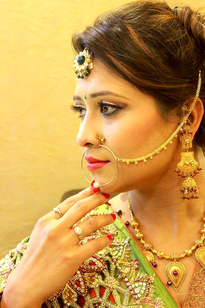 Perfect Bridal look by Arshhia Chawla Bridal-makeup | Weddings Photos & Ideas