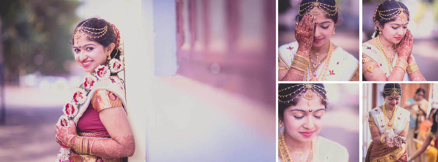 Beautiful bride by Click n' Cherish Wedding-photography | Weddings Photos & Ideas