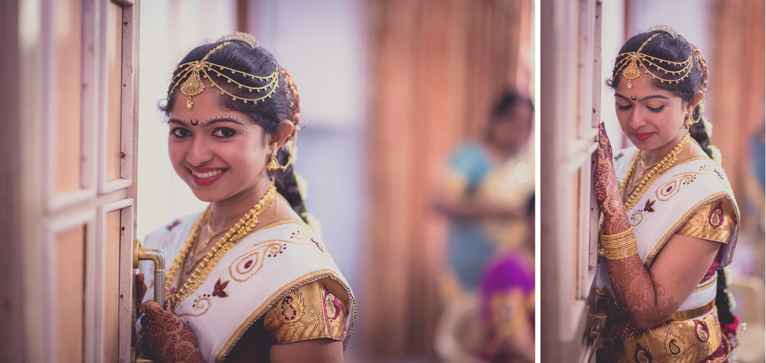 The South Indian bride by Click n' Cherish Wedding-photography | Weddings Photos & Ideas