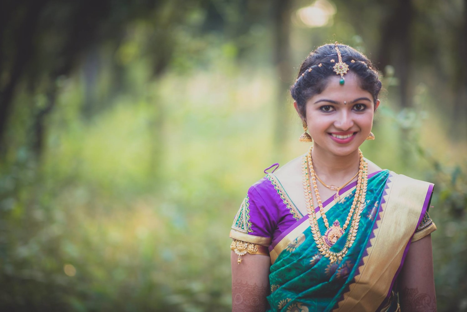 The pretty smile by Click n' Cherish Wedding-photography | Weddings Photos & Ideas