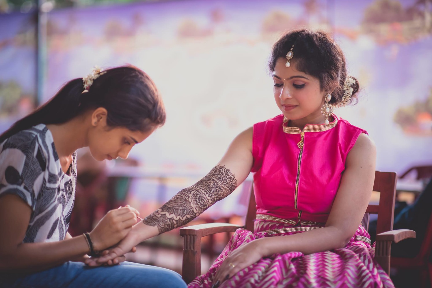 Mehendi by Click n' Cherish Wedding-photography | Weddings Photos & Ideas