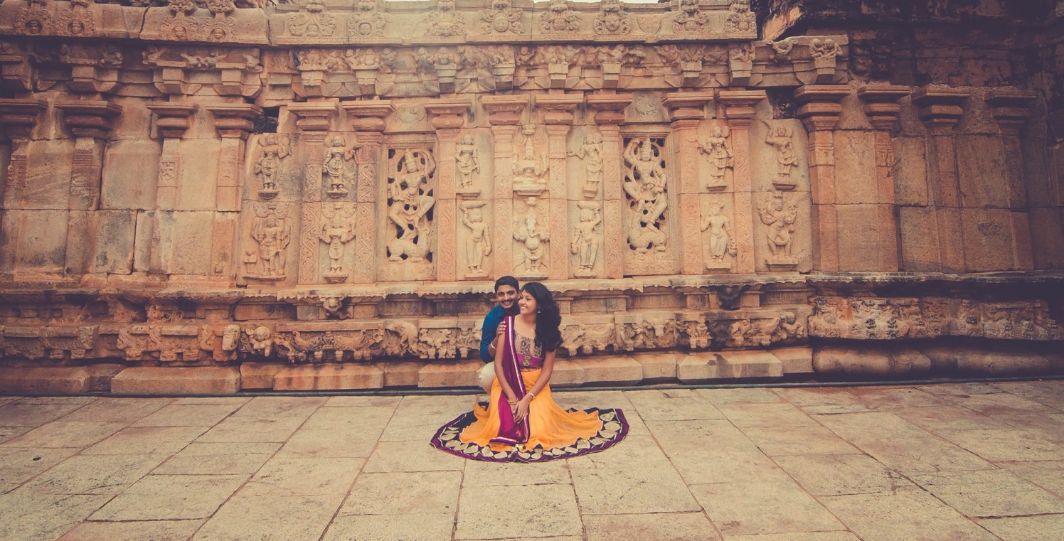 Posing beautifully by Click n' Cherish Wedding-photography | Weddings Photos & Ideas